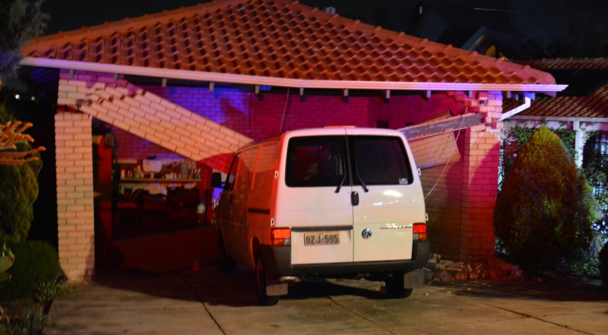 Significant structural damage after Mosman Park crash